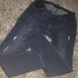 NWOT Skinny maternity jeans